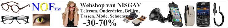 Webshop voor onderdelen van iPhone, blackberry, telecom, brillen, tassen, schoenen en veel meer -30-50%